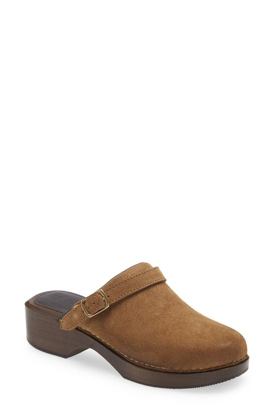 Re/done Suedes '70S CLASSIC CLOG