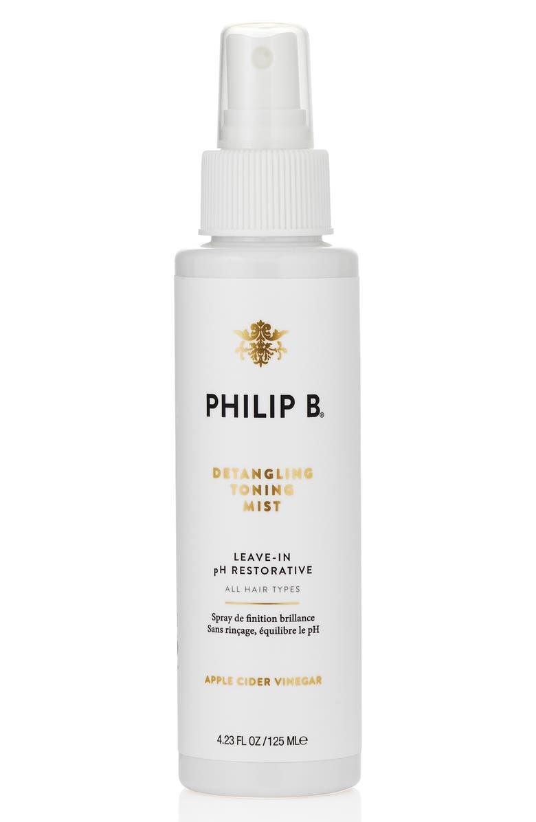 PHILIP B<SUP>®</SUP> pH Restorative Detangling Toning Mist, Main, color, NO COLOR