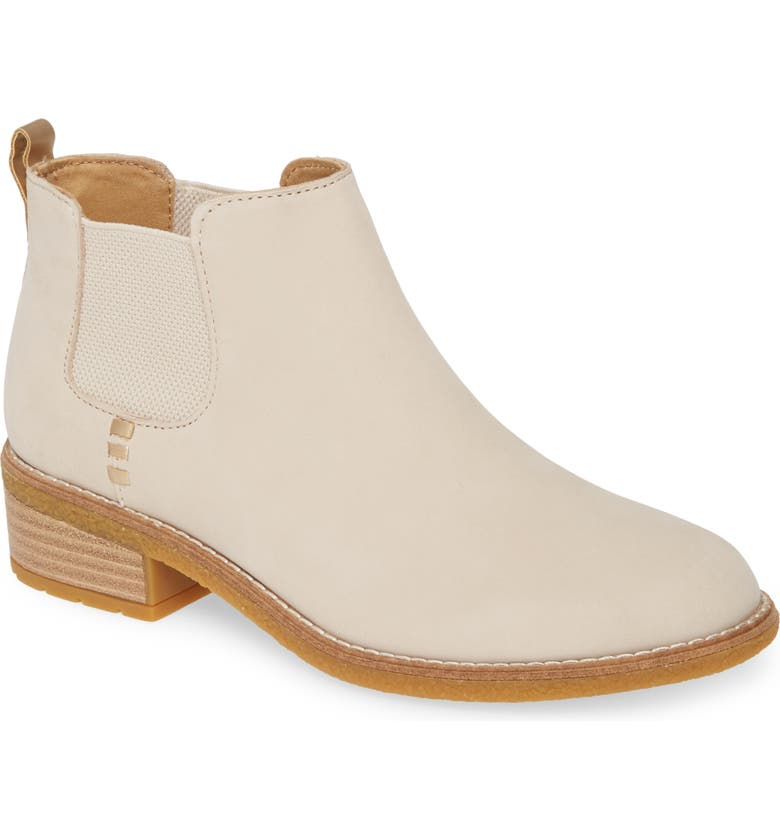 SPERRY Maya Chelsea Boot, Main, color, IVORY LEATHER