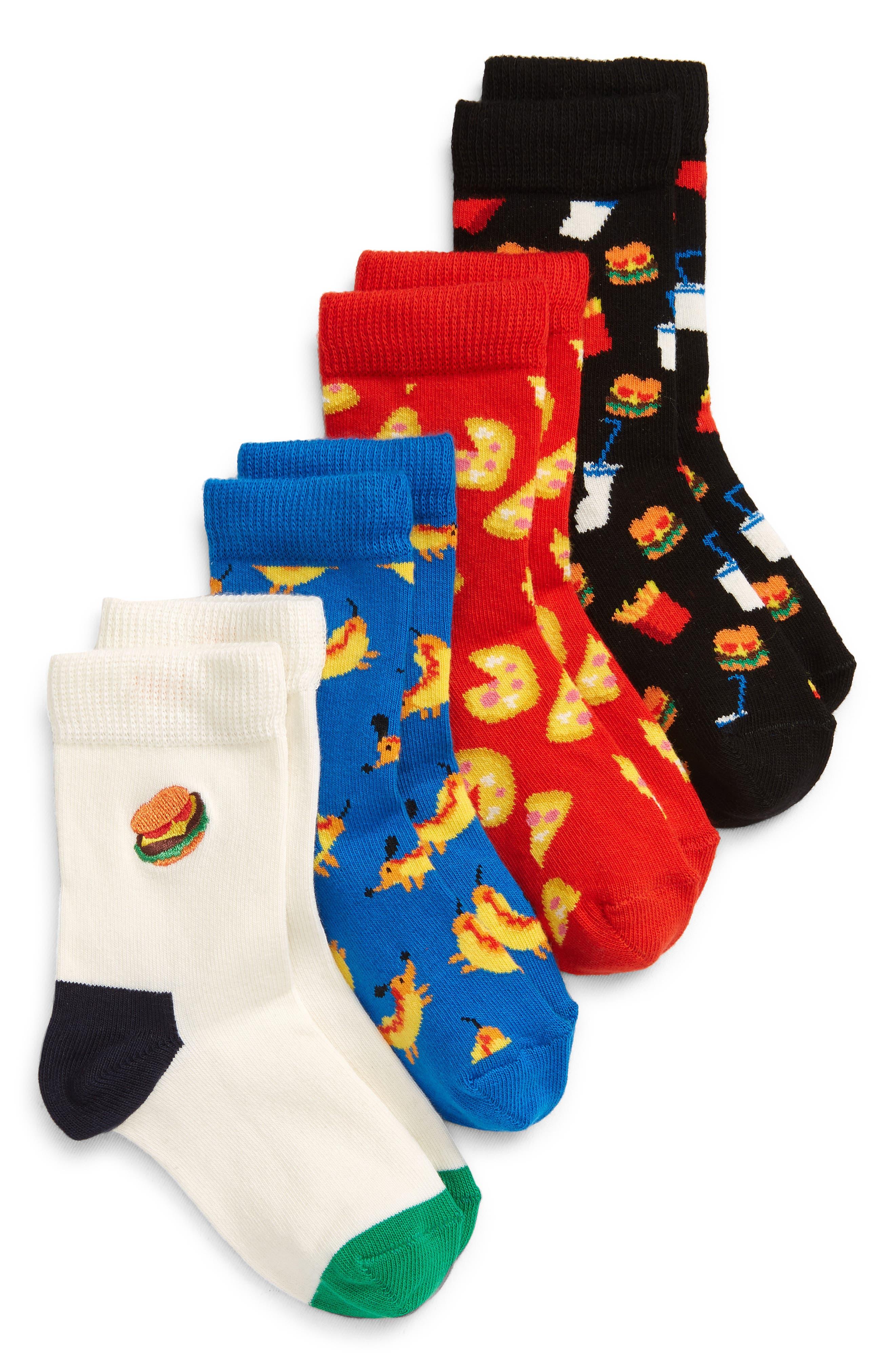 Happy Socks Baby Kids Volcano Gift Box Socks