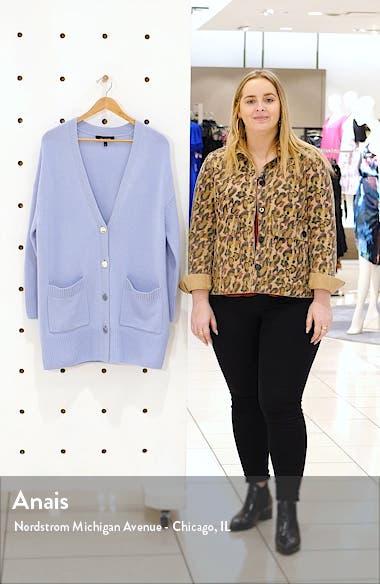 Longline Cashmere Cardigan, sales video thumbnail