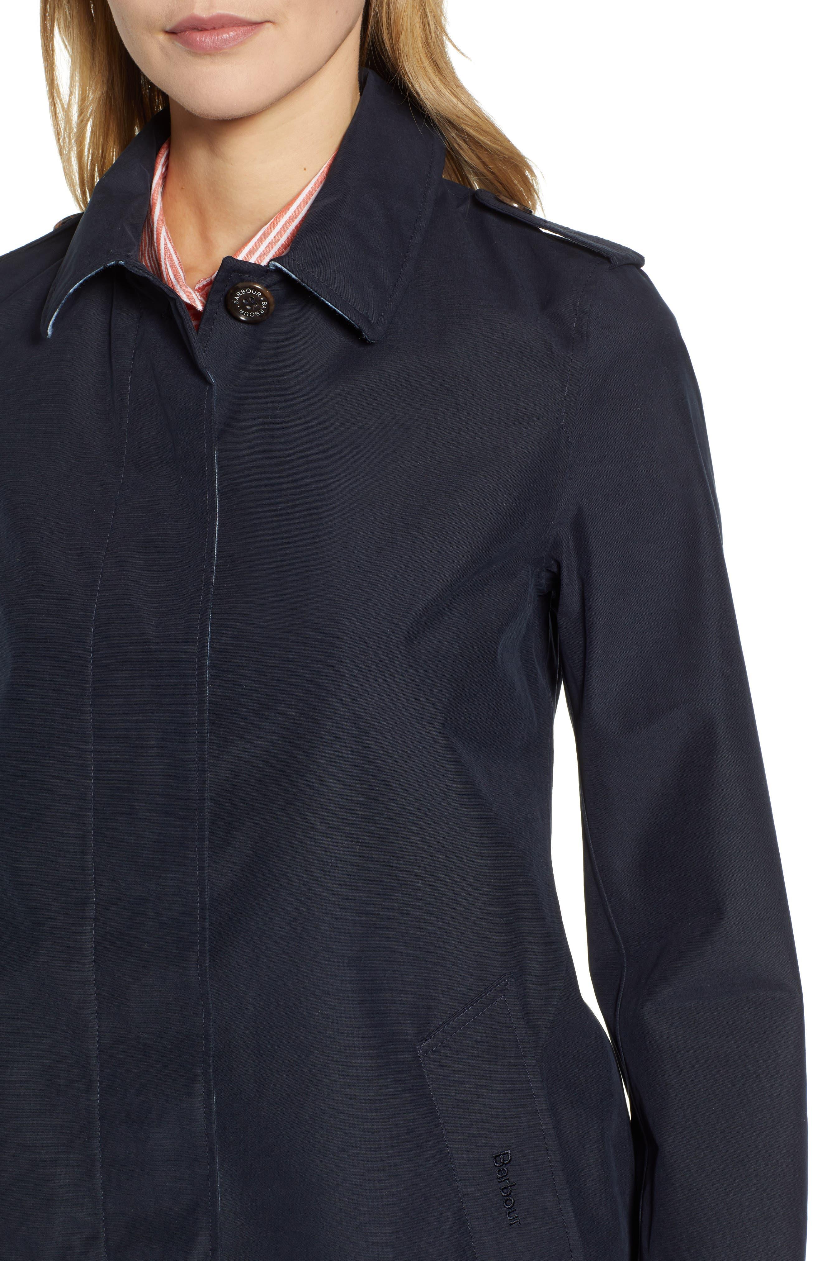 ,                             Laggan Waterproof Raincoat,                             Alternate thumbnail 5, color,                             NAVY