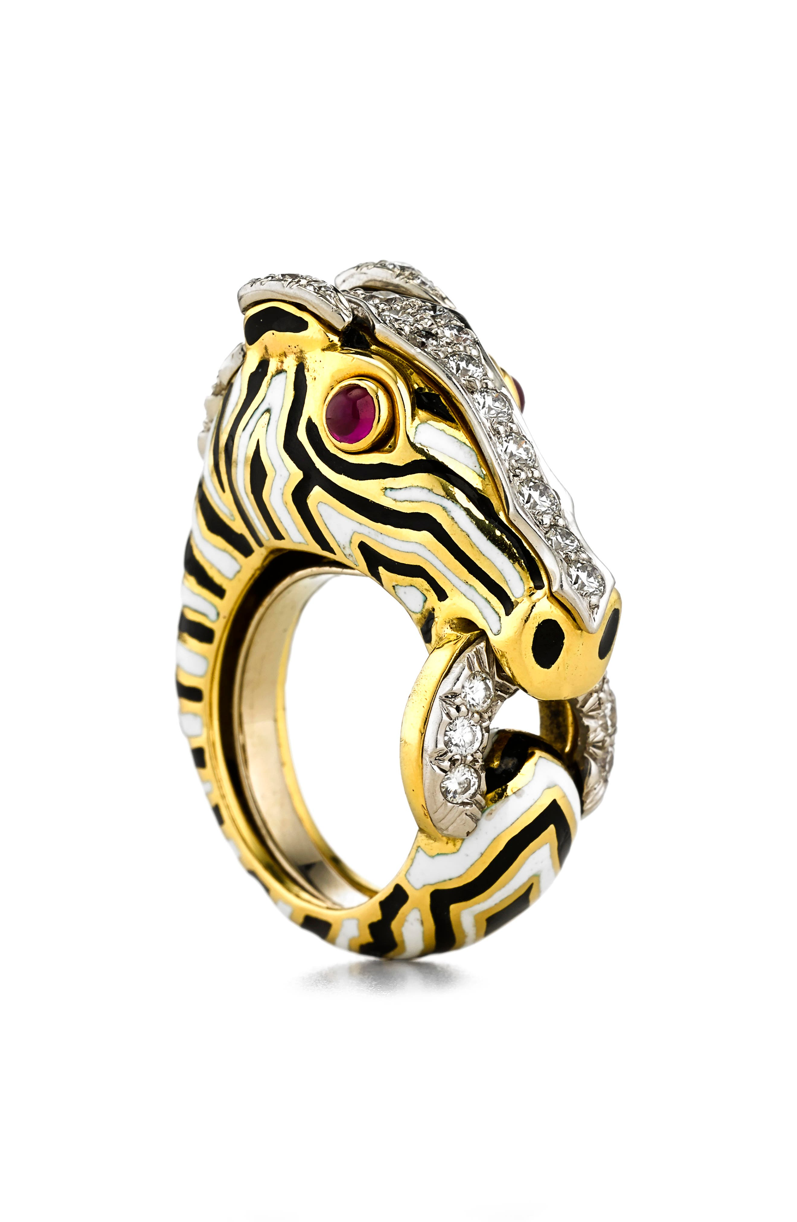 Kingdom Zebra Ring