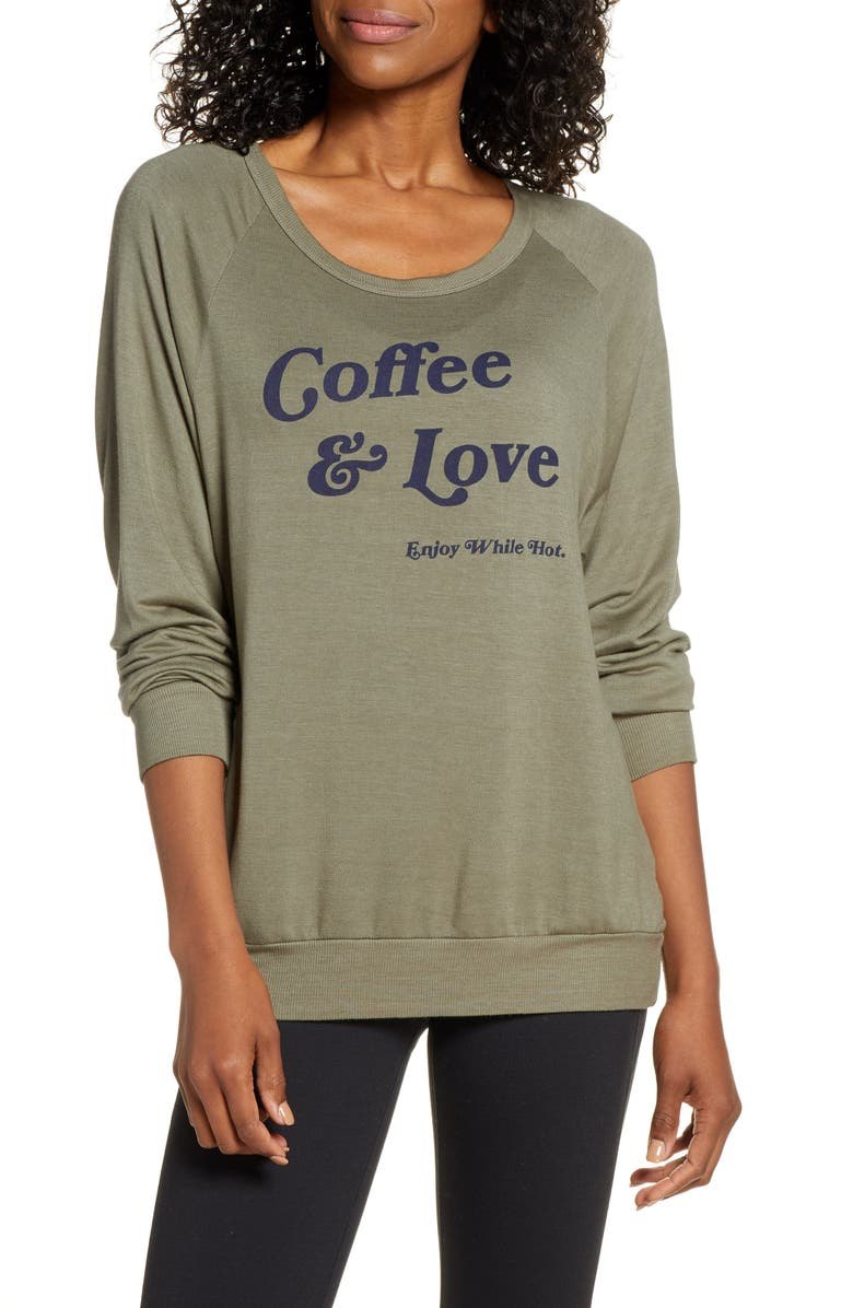 GOOD HYOUMAN Dave Coffee & Love Pullover, Main, color, 300