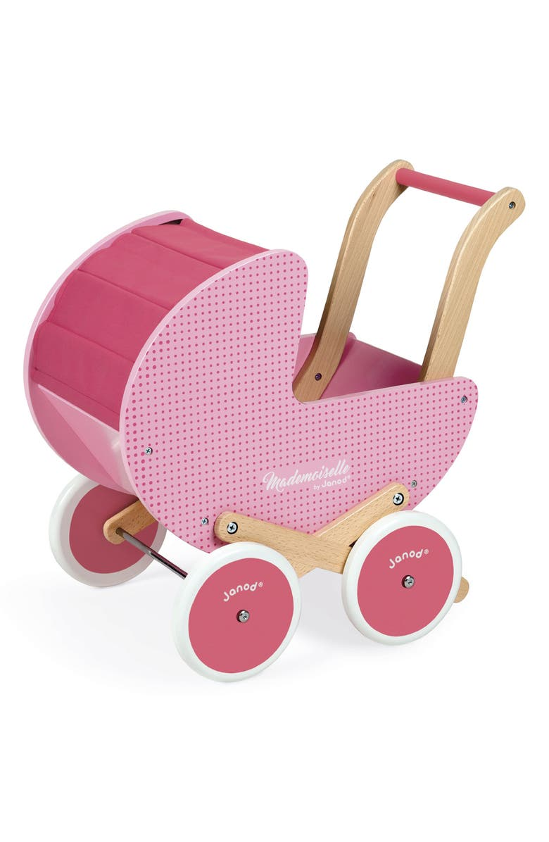 JANOD Doll Stroller, Main, color, PINK