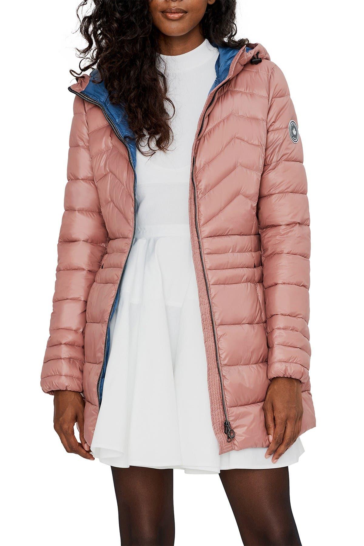 Image of NOIZE Eden Lightweight Hooded Zip Puffer Jacket