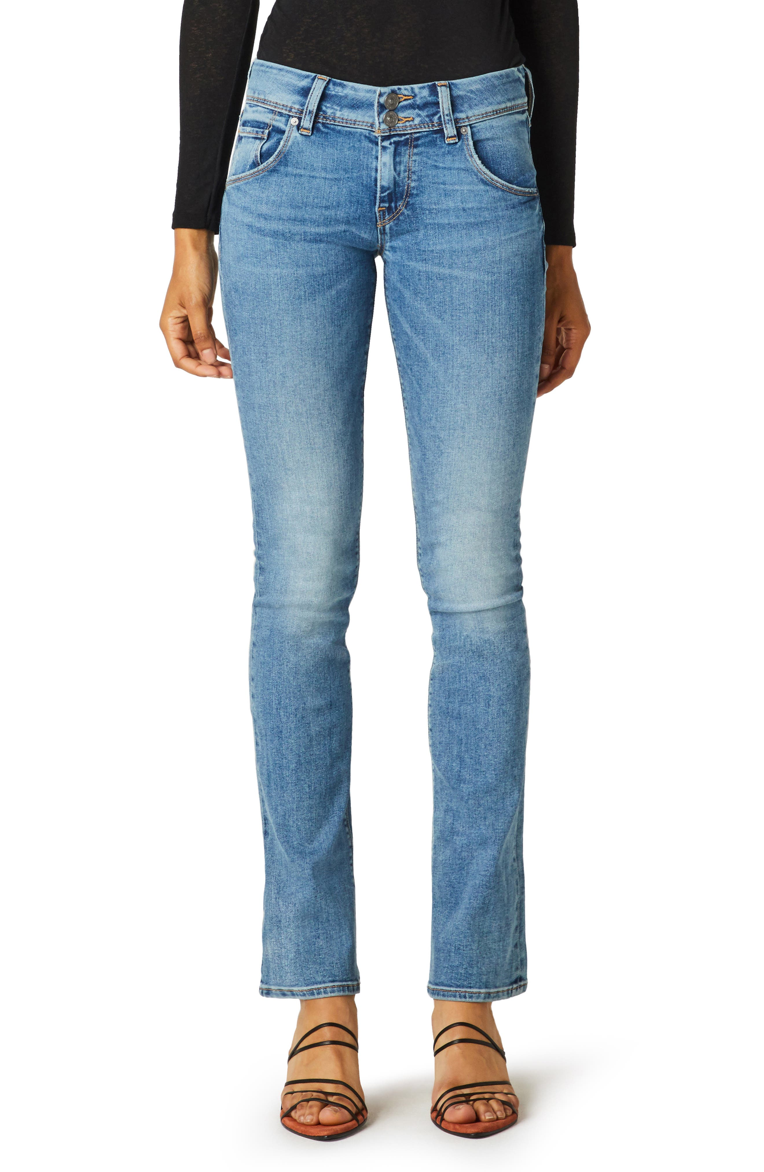 Beth Low Rise Baby Bootcut Jeans