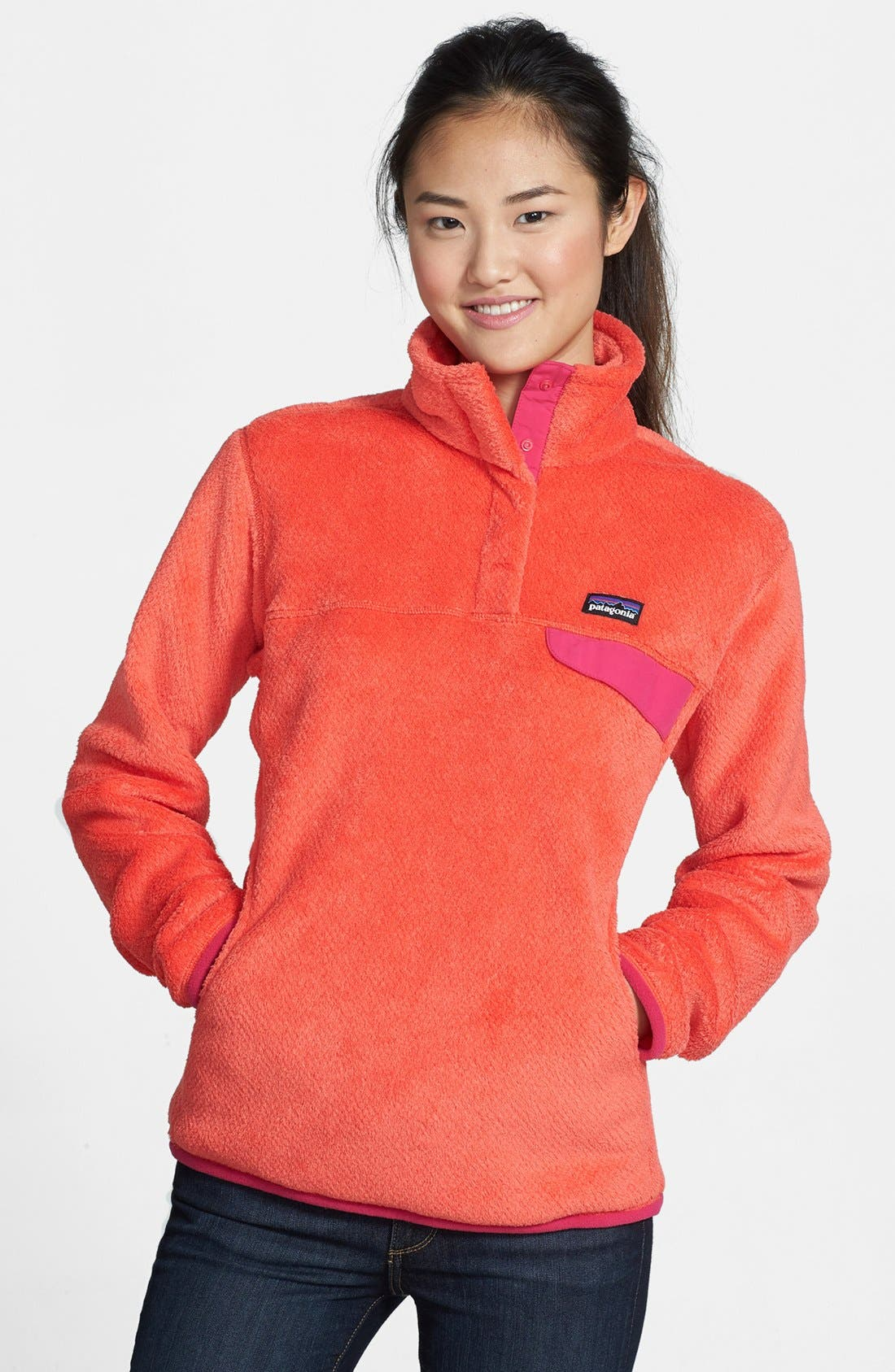 ,                             Re-Tool Snap-T<sup>®</sup> Fleece Pullover,                             Main thumbnail 193, color,                             655