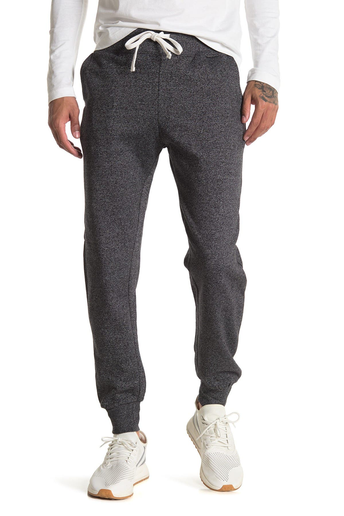 Image of FLEECE FACTORY Marled Joggers
