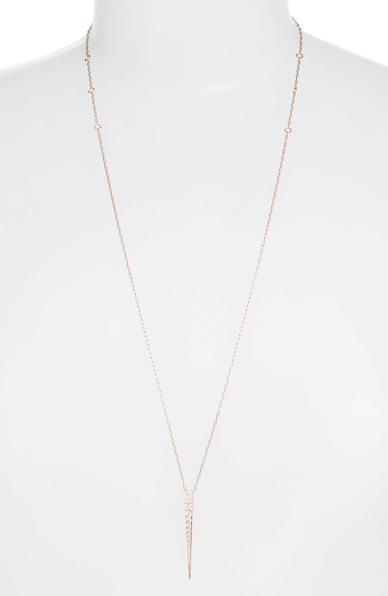 Rae Long Adjustable Pendant Necklace by Nadri
