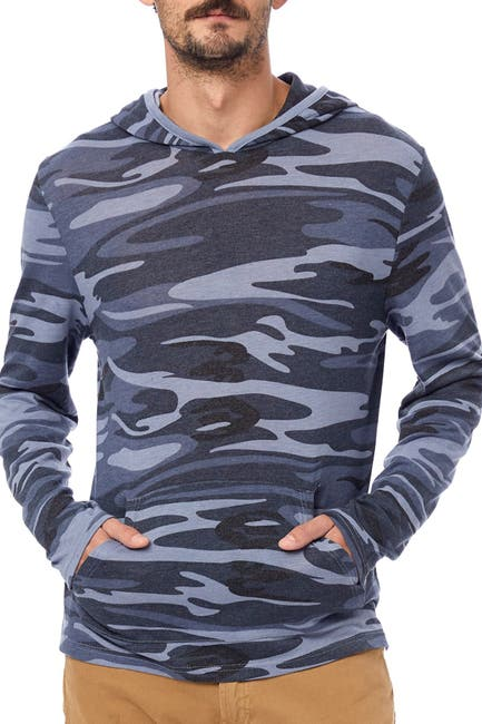 Image of Alternative Marathon Printed Eco-Jersey Pullover Hoodie