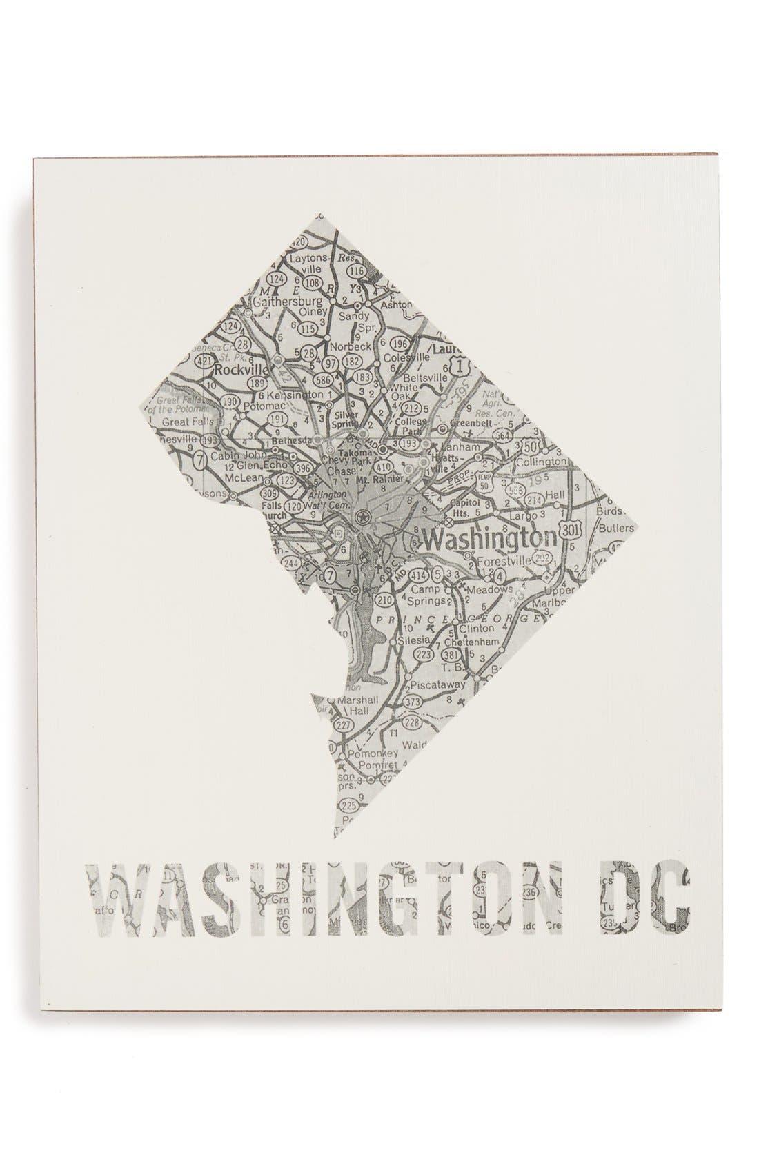 ,                             City Map Wall Art,                             Main thumbnail 42, color,                             059