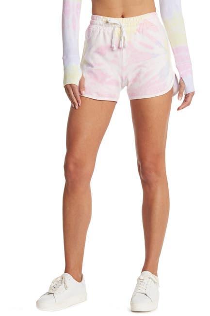 Image of ARX LAB Tie Dye Fleece Shorts