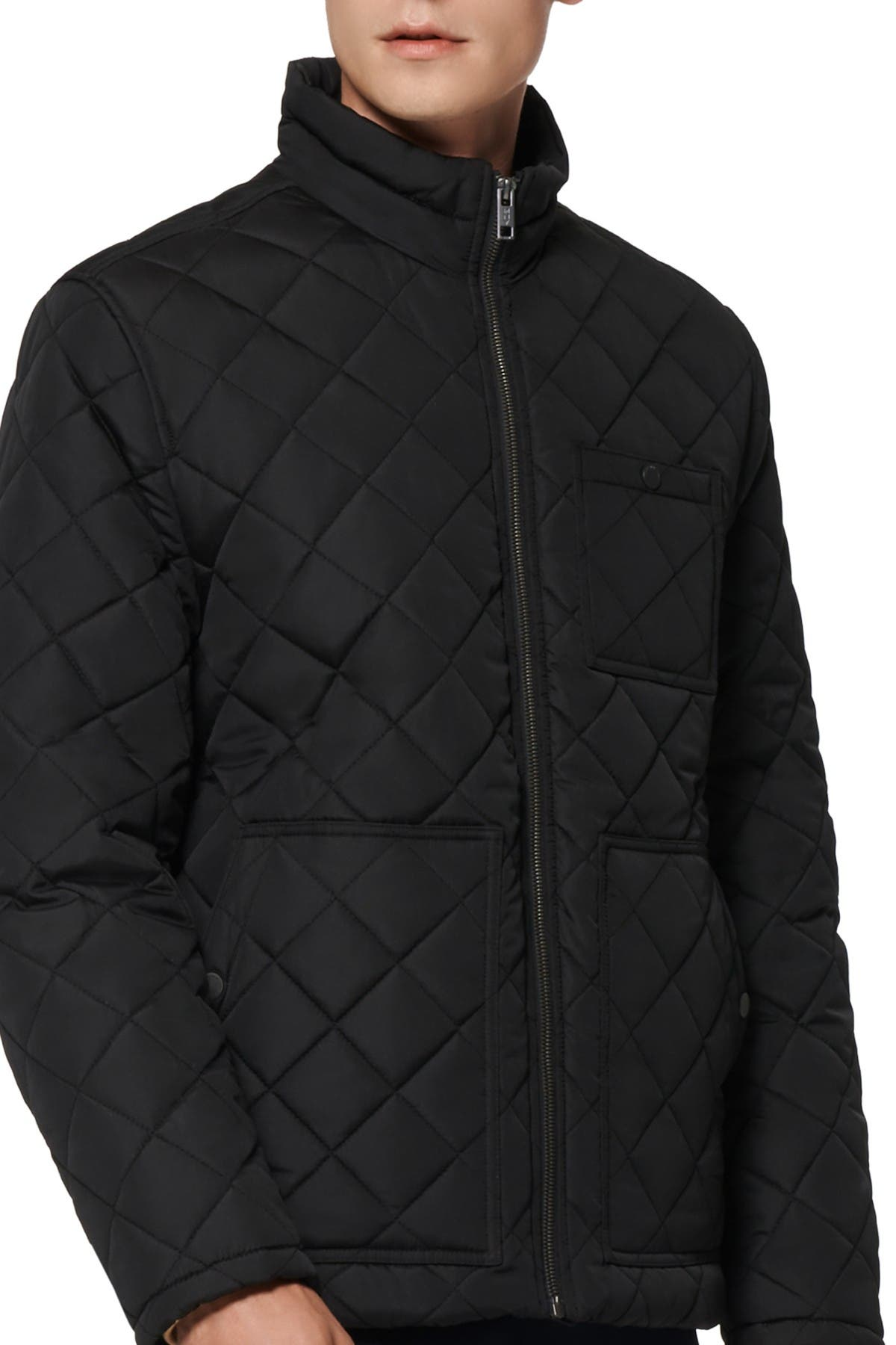 Image of Andrew Marc Elroy Quilted Jacket