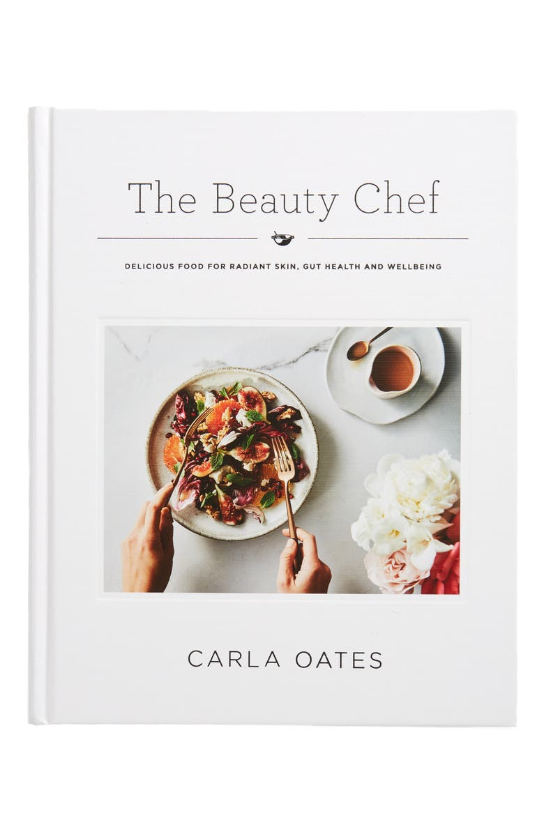 CHRONICLE BOOKS 'The Beauty Chef: Delicious Food for Radiant Skin, Gut Health and Wellbeing' Cookbook, Main, color, WHITE