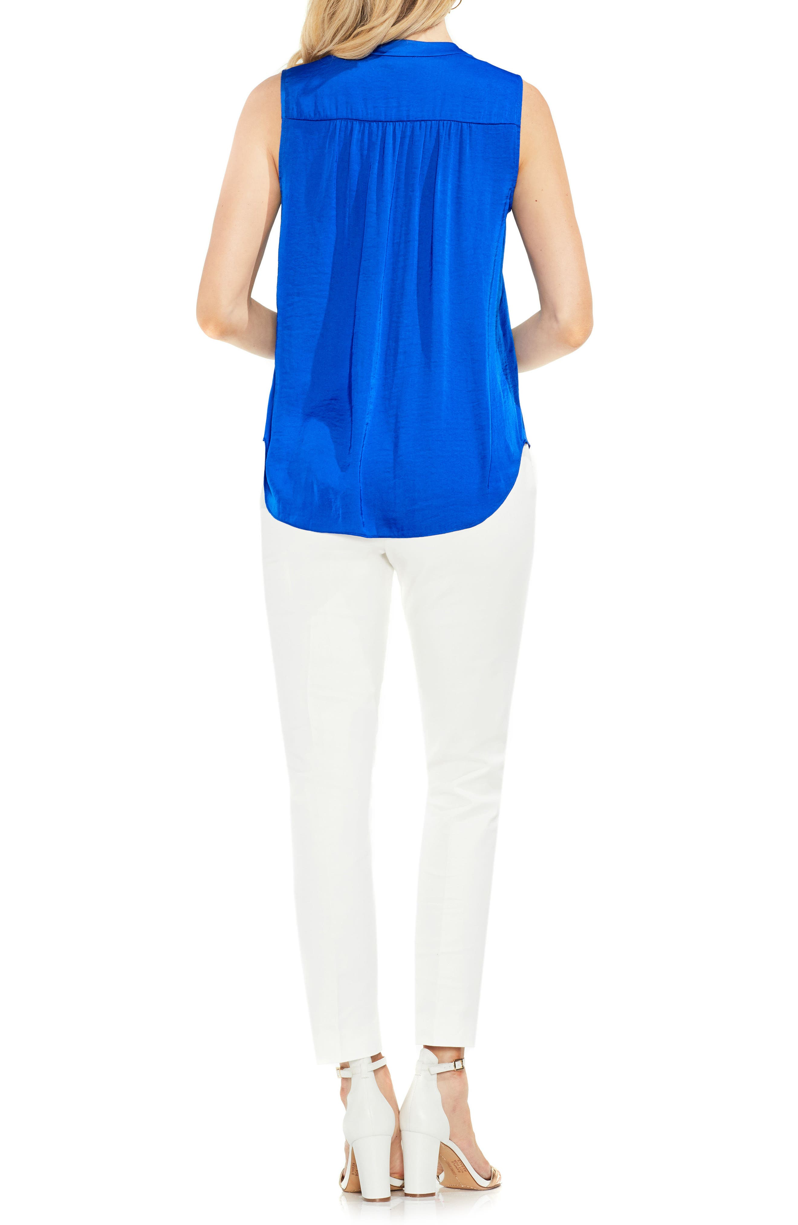 ,                             Rumpled Satin Blouse,                             Alternate thumbnail 193, color,                             473