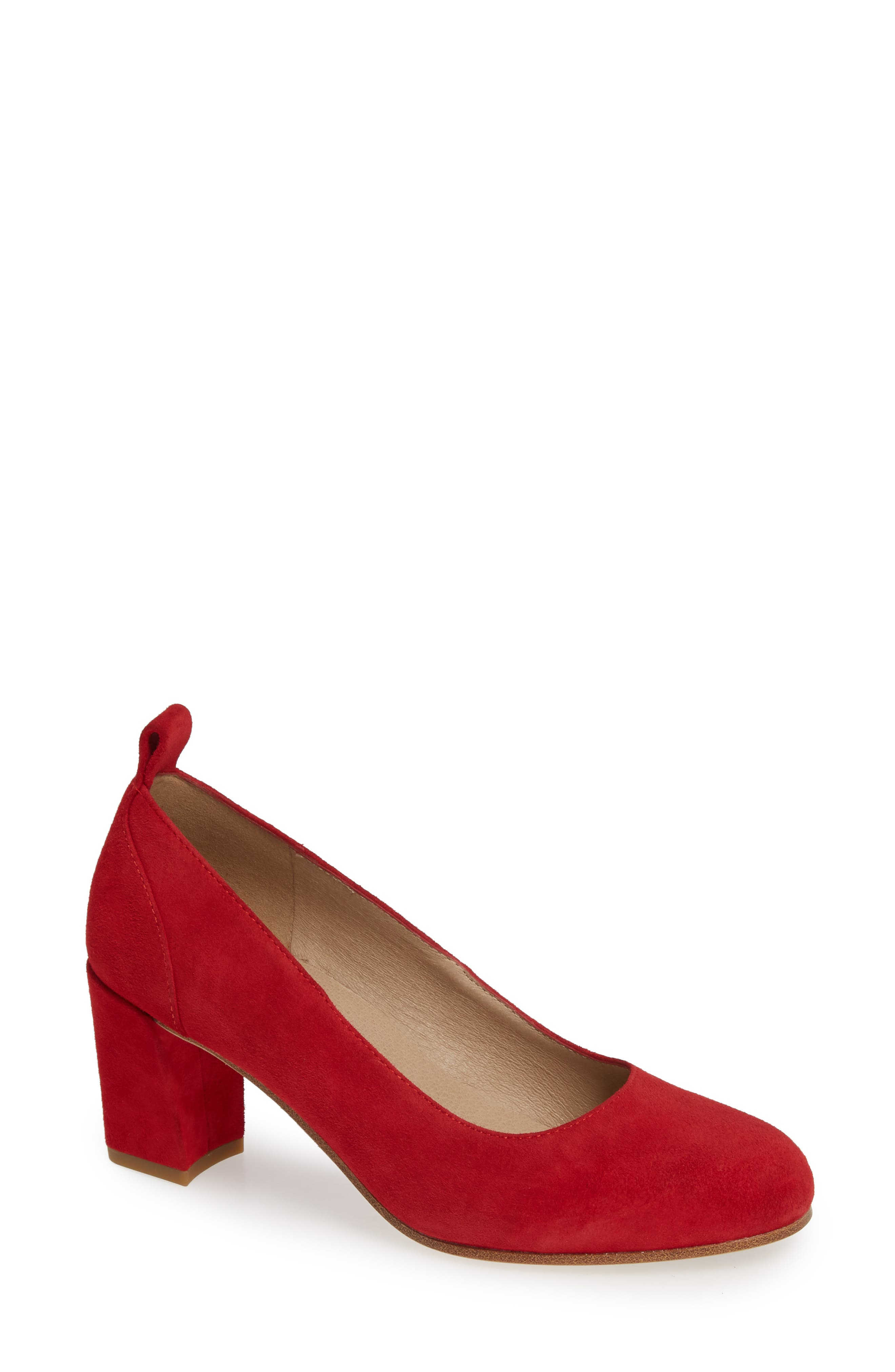 Eileen Fisher Lela Pump, Red