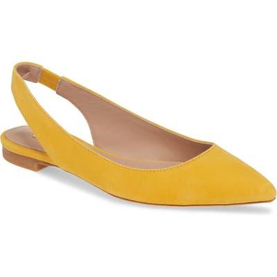 James Chan Nakasey Slingback Sandal- Yellow