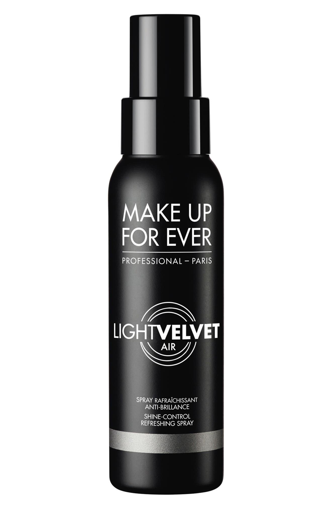 Light Velvet Air Shine-Control Refreshing Spray
