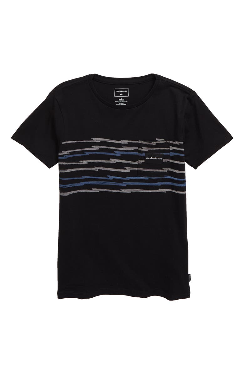 QUIKSILVER Razoredge Graphic T-Shirt, Main, color, 002