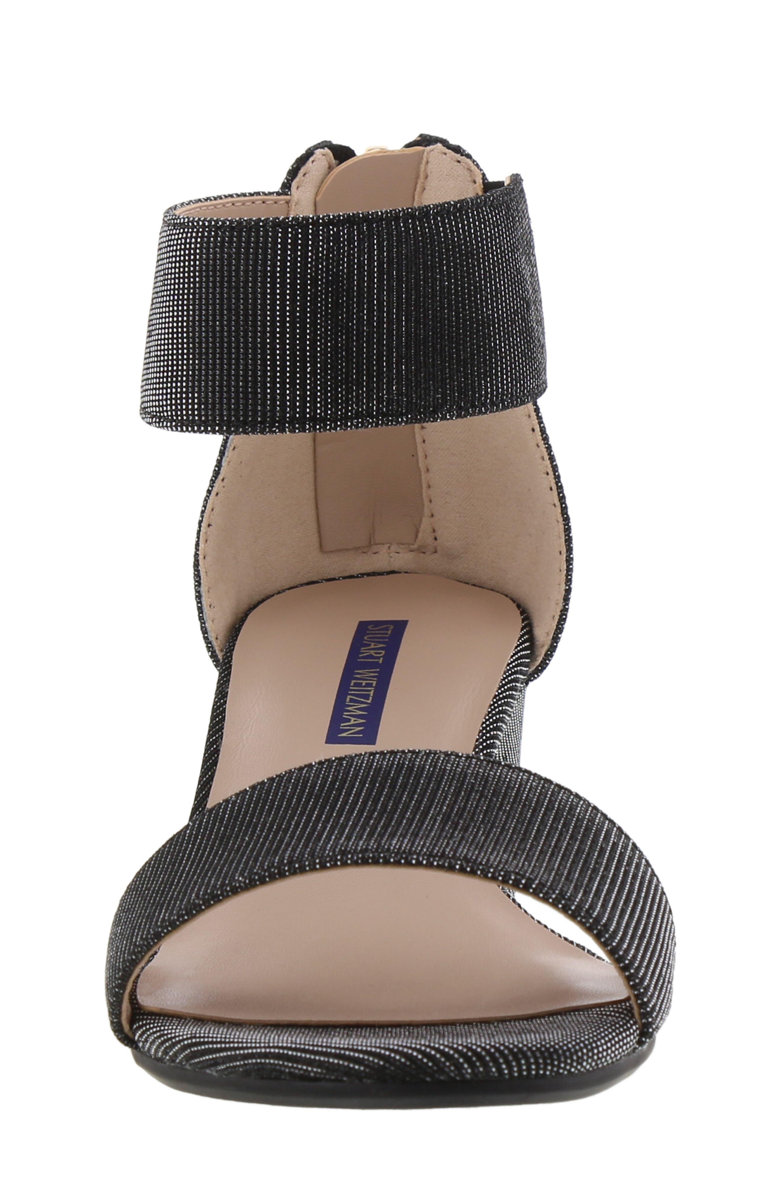 ,                             Rosalyn Alexa Sparkle Sandal,                             Alternate thumbnail 4, color,                             BLACK