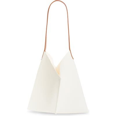 Bp. Center Seam Faux Leather Tote - Ivory