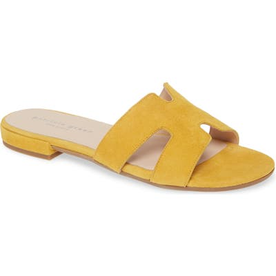Patricia Green Hallie Slide Sandal, Yellow