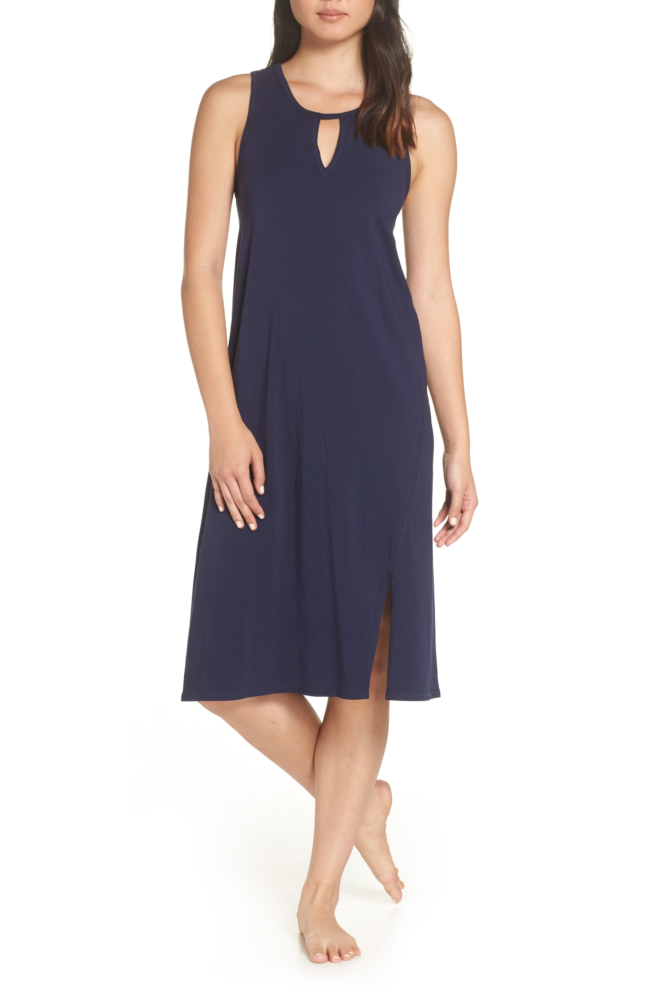 Naked Lucia Nightgown, Blue