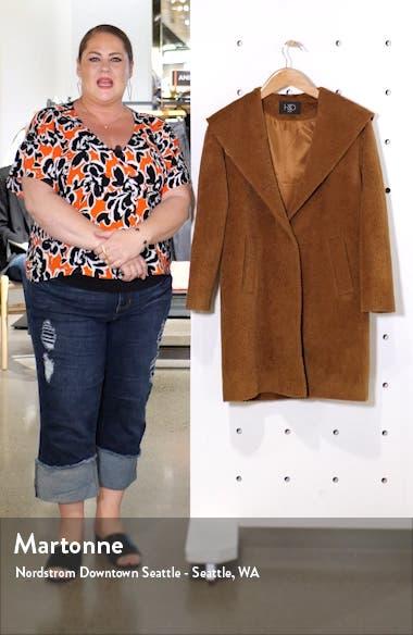 Wool & Alpaca Blend Hooded Coat, sales video thumbnail
