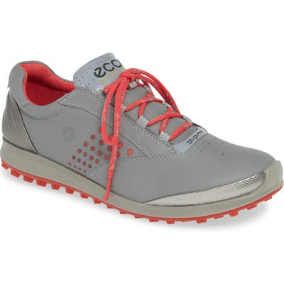 Ecco Biom Hybrid 2 Waterproof Golf Shoe, Grey