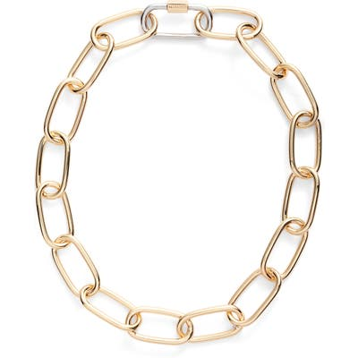 Allsaints Carabiner Link Necklace (Nordstrom Exclusive)