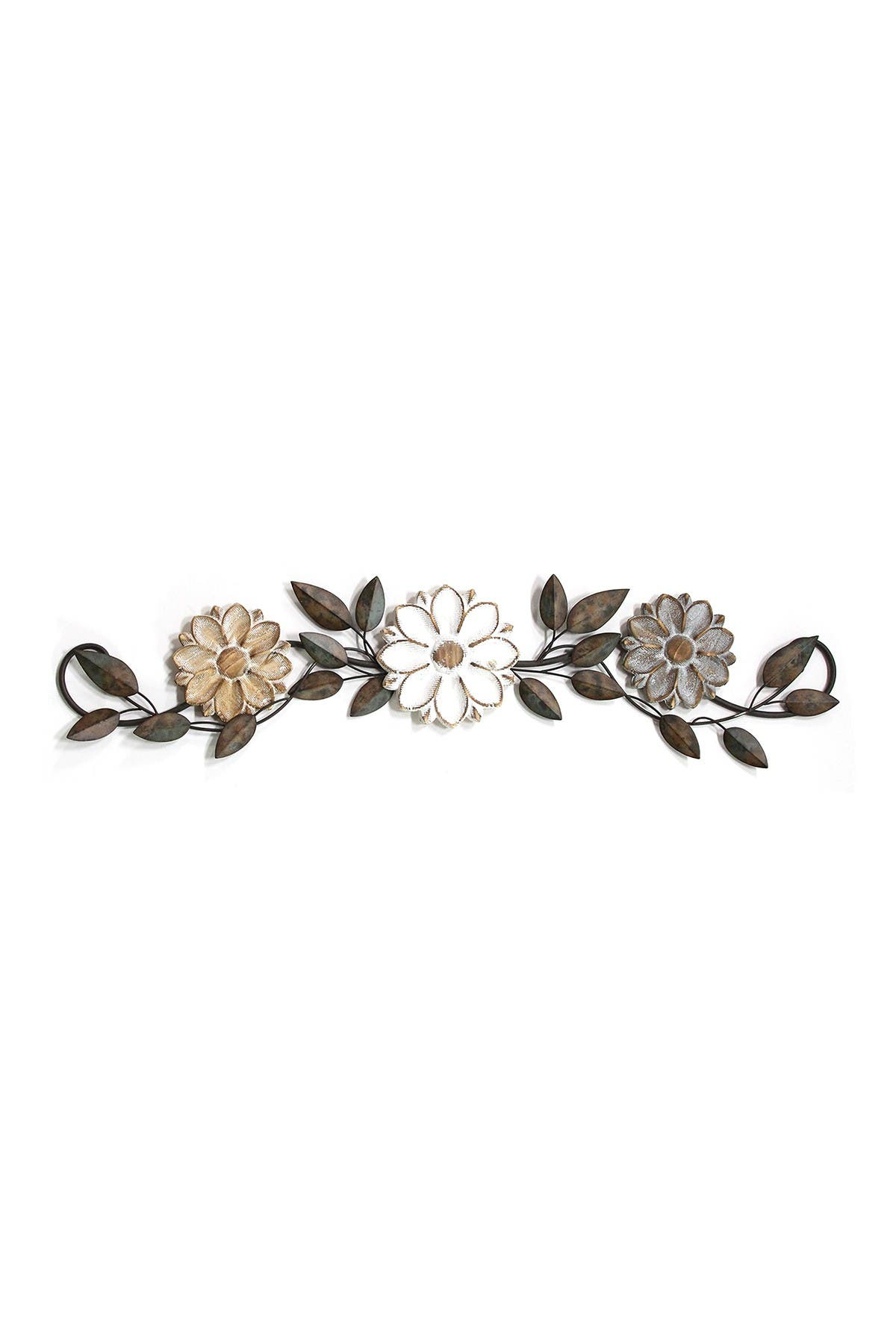 Image of Stratton Home Multi Floral Over the Door Wall Decor