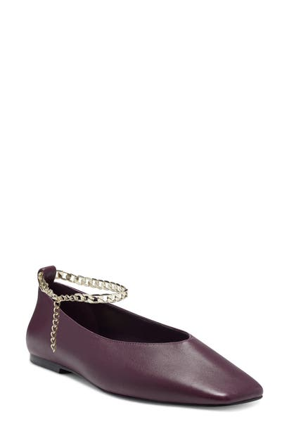 Vince Camuto LATENLA ANKLE STRAP BALLET FLAT