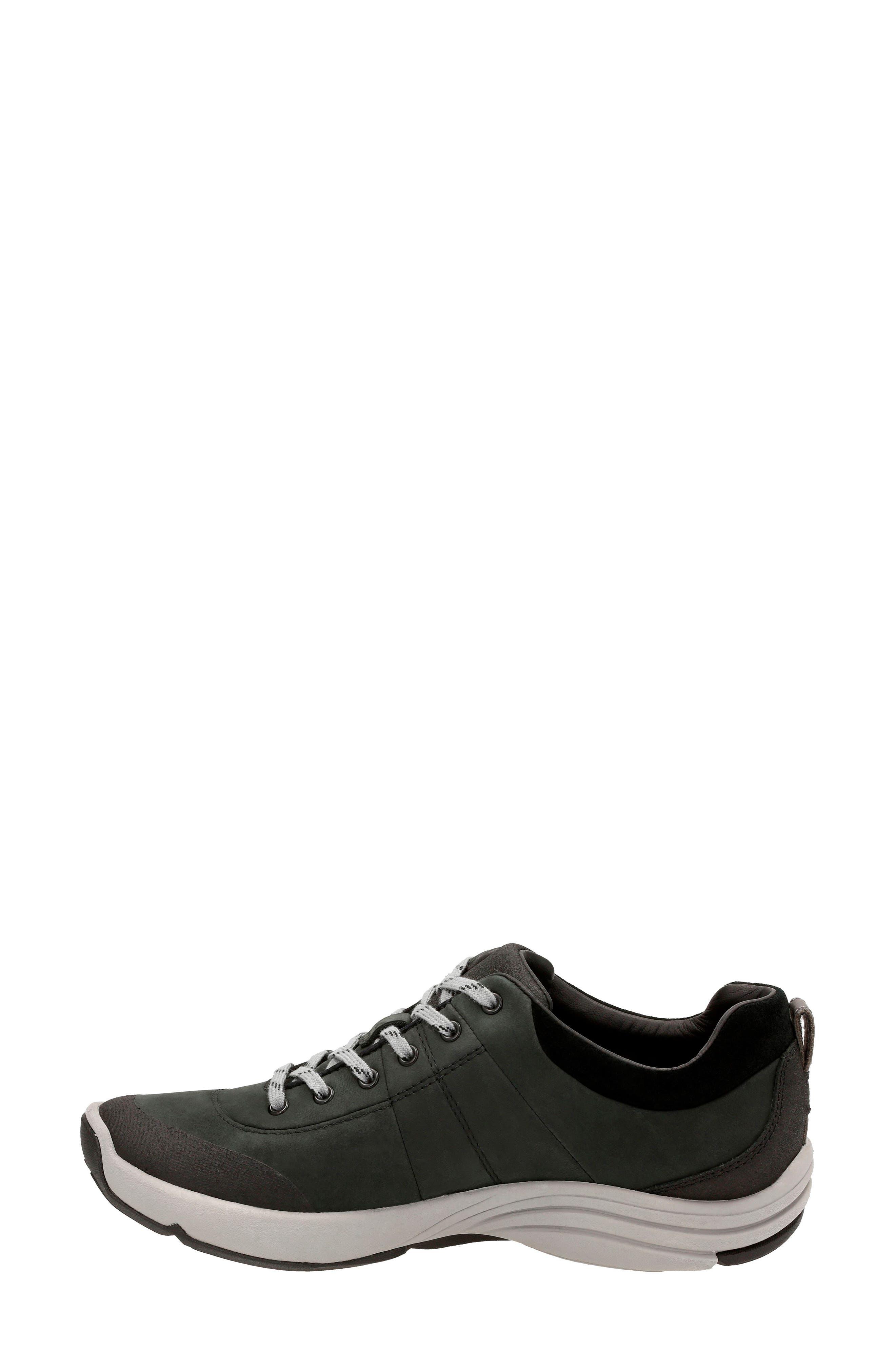 ,                             Wave Andes Sneaker,                             Alternate thumbnail 2, color,                             BLACK NUBUCK LEATHER