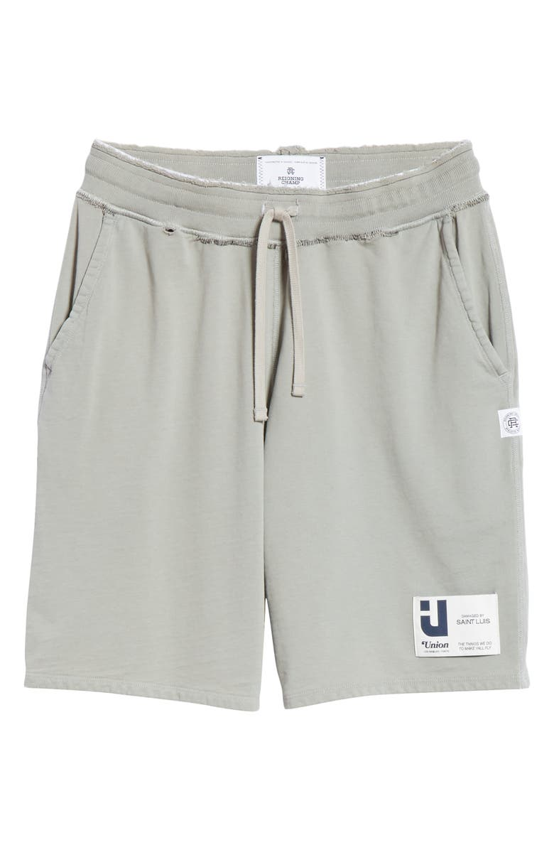 REIGNING CHAMP Sweat Shorts, Main, color, GREEN