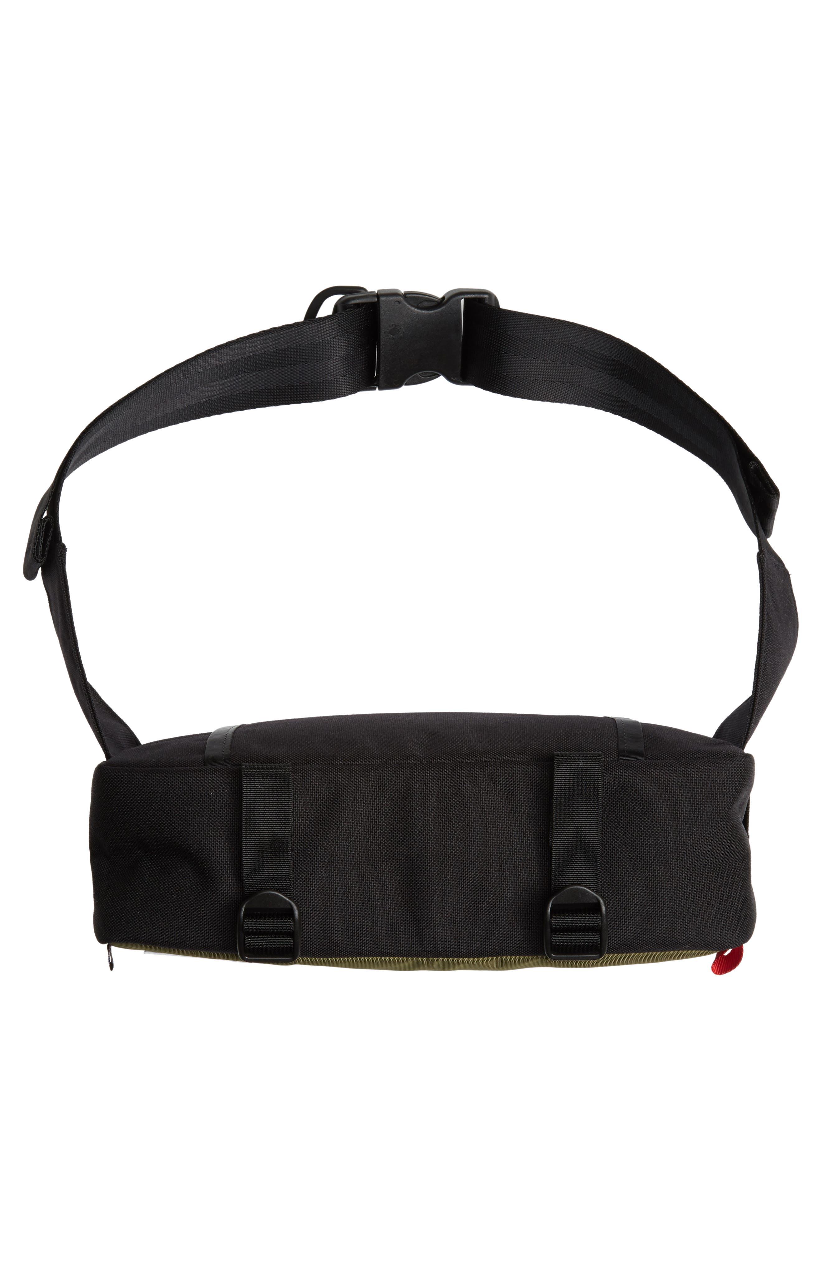 ,                             Quick Pack Belt Bag,                             Alternate thumbnail 9, color,                             OLIVE/ BLACK