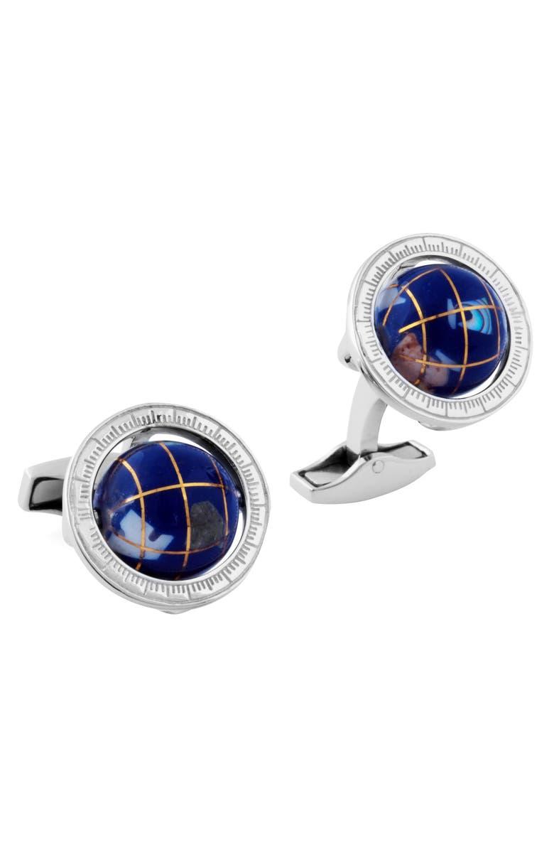 TATEOSSIAN 'Globe' Cuff Links, Main, color, 400