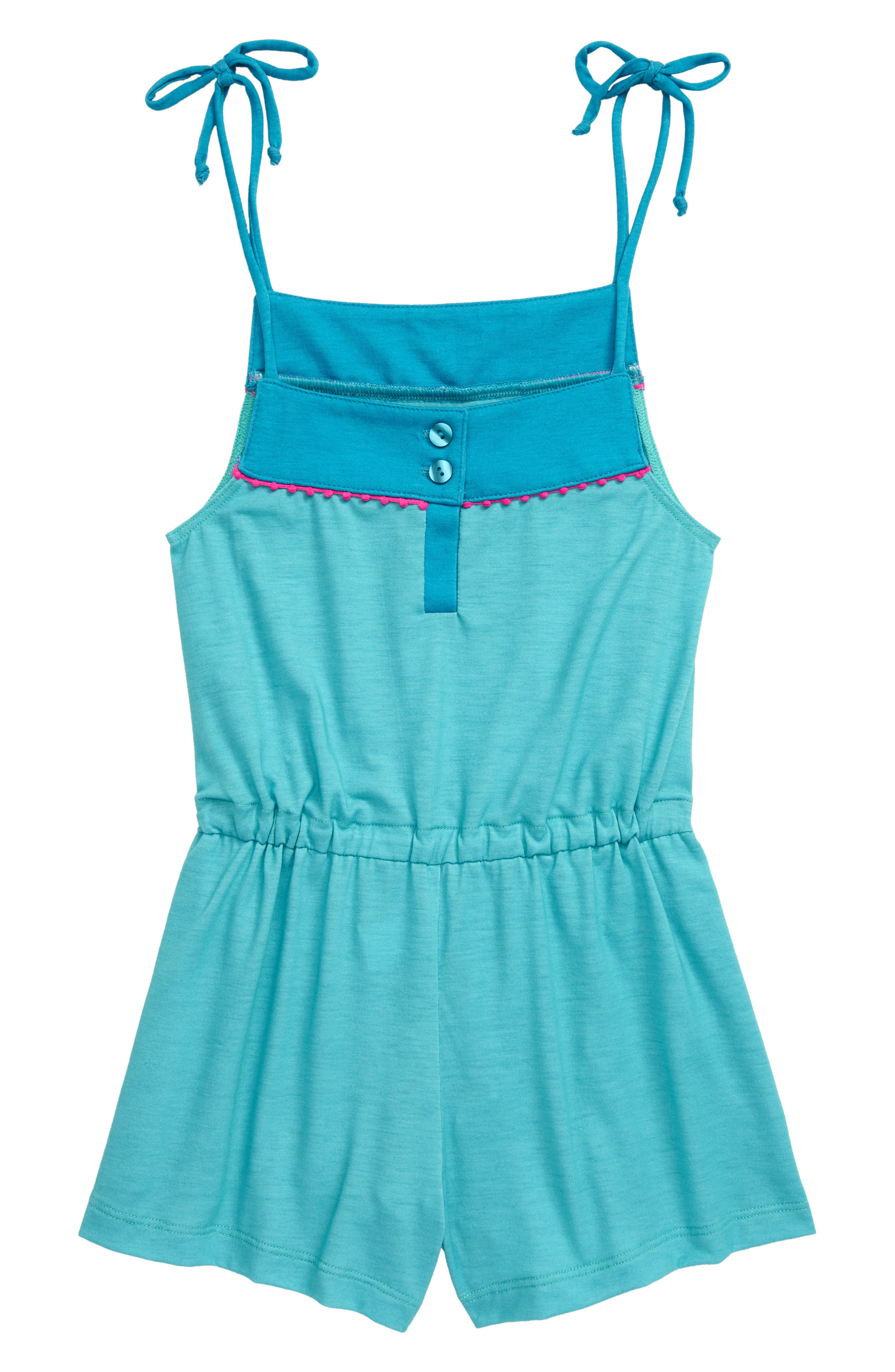 Image of Heart and Harmony Pompom Romper