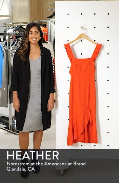 Aranciata Midi Dress, sales video thumbnail