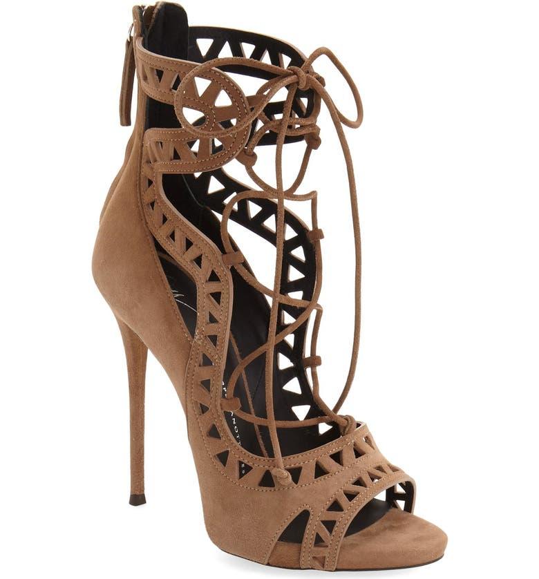 GIUSEPPE ZANOTTI 'Coline' Sandal, Main, color, 201
