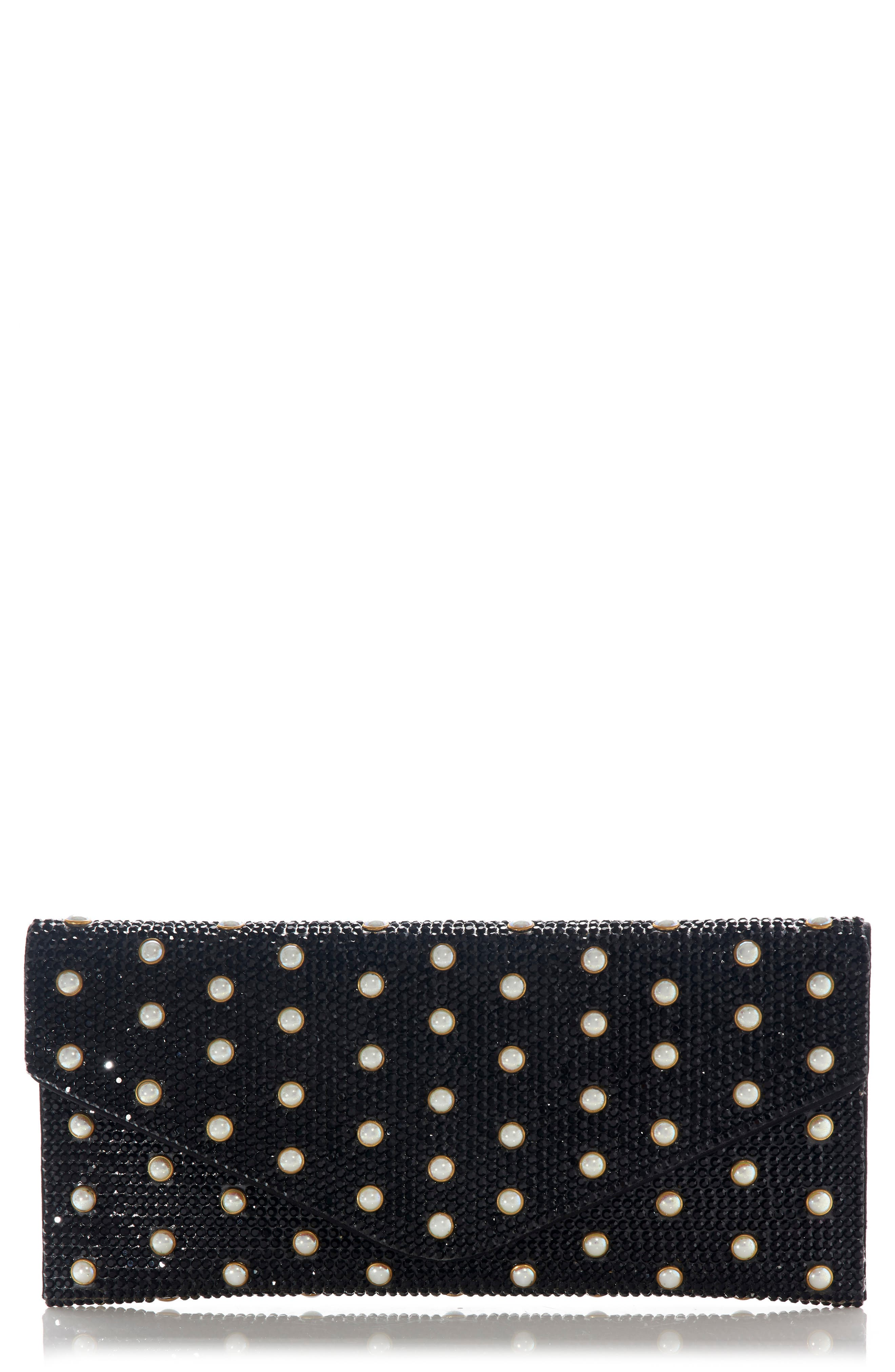 Couture Beaded Envelope Clutch