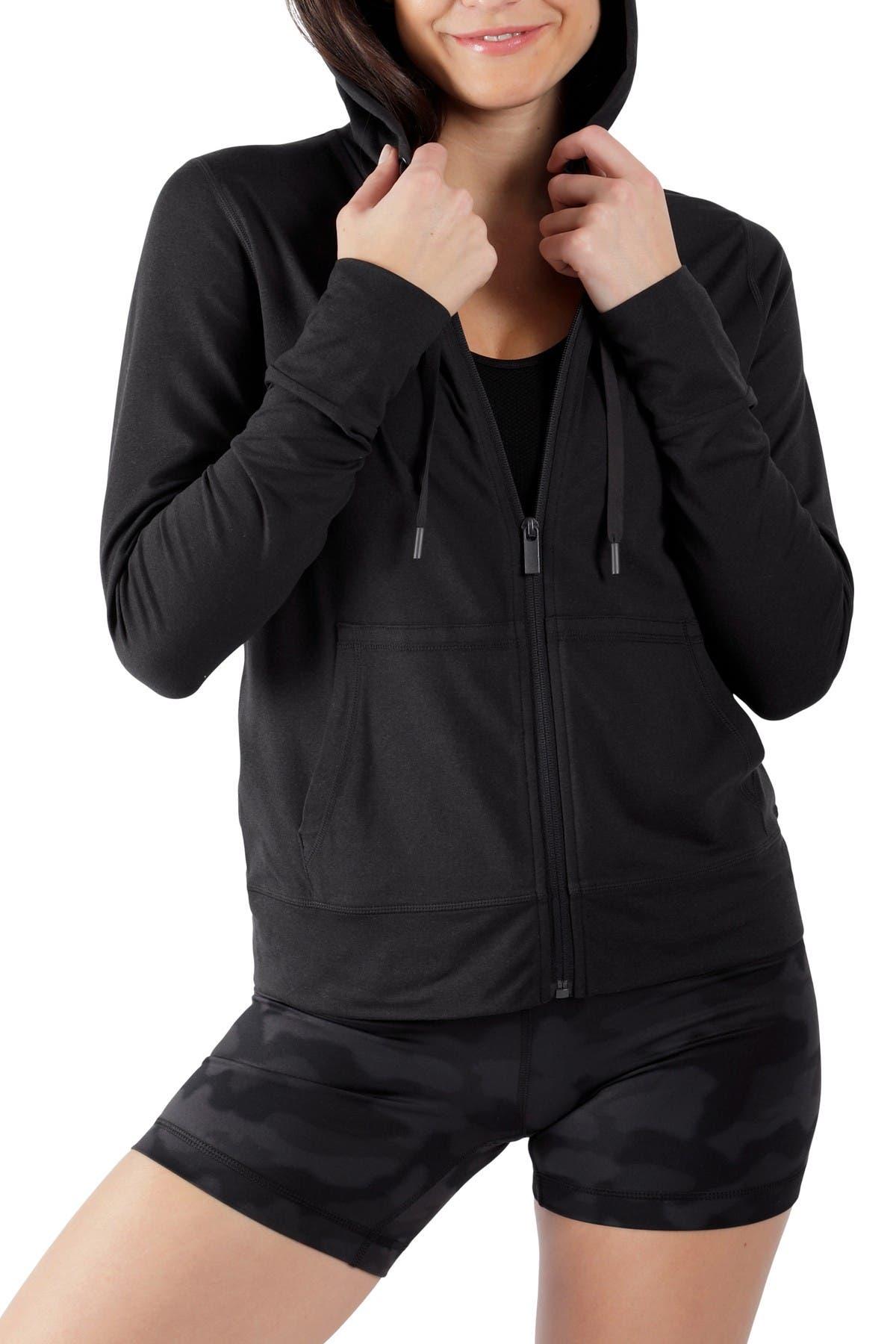 Image of 90 Degree By Reflex Oversized Full Zip Jacket