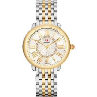 Michele Serein Diamond Watch Head & Bracelet,
