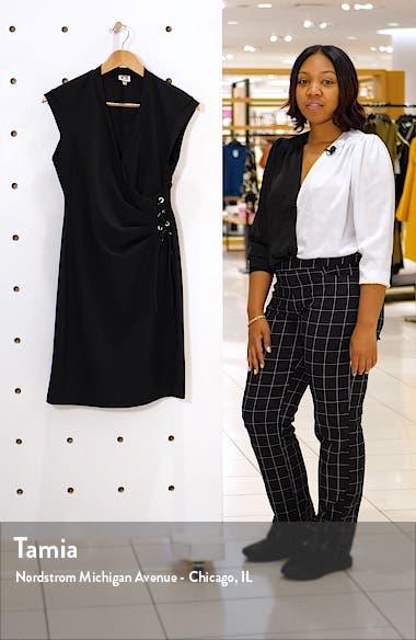 Lace-Up Side Sheath Dress, sales video thumbnail