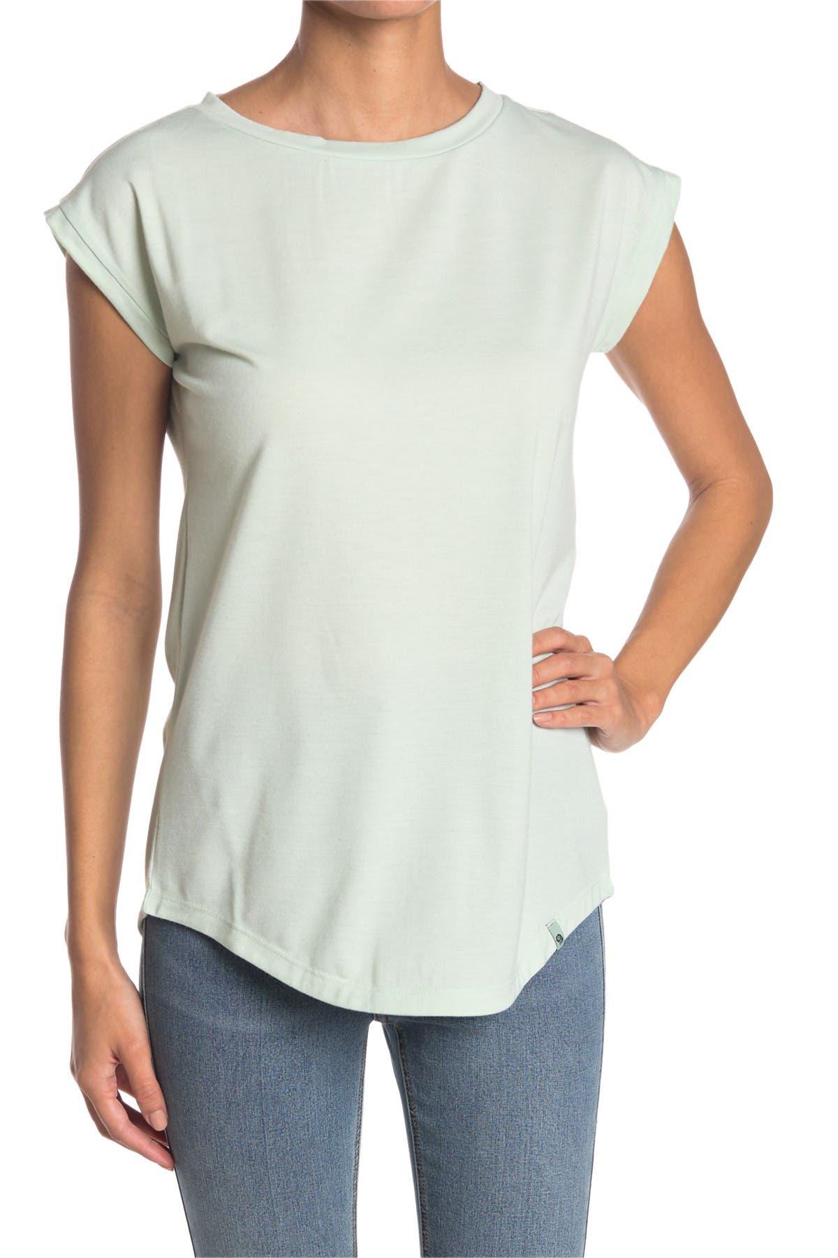 Image of MOUNTAIN HARDWEAR Everyday Perfect Cap Sleeve T-Shirt