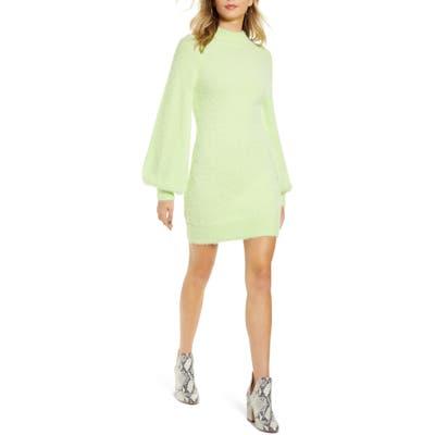 Bardot Long Sleeve Sweater Dress