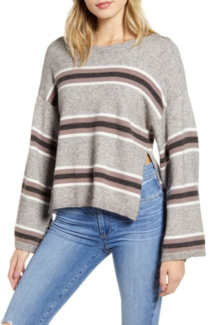 Image of cupcakes and cashmere Amour Striped Sweater