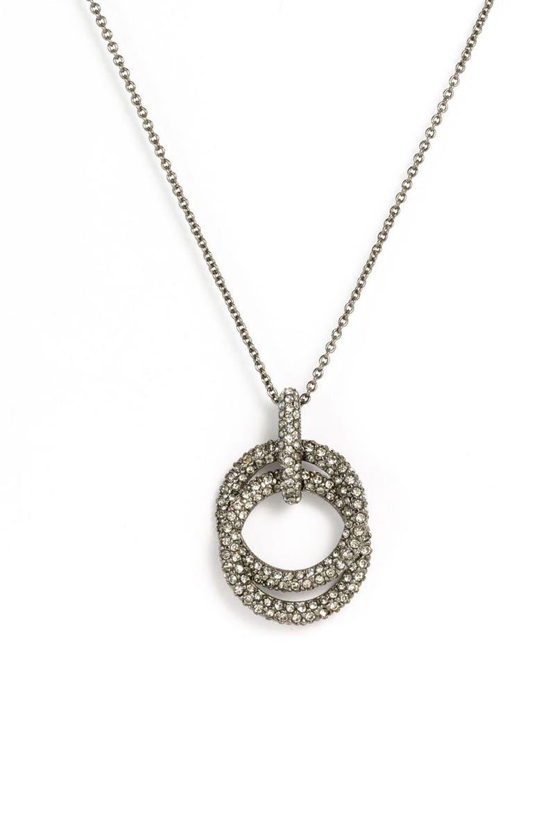5b259326c Double Ring Pendant Necklace, Main, color, 001