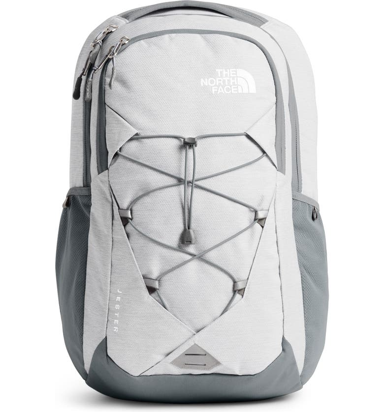 THE NORTH FACE 'Jester' Backpack, Main, color, TNF WHT MET MELANGE/ MID GREY