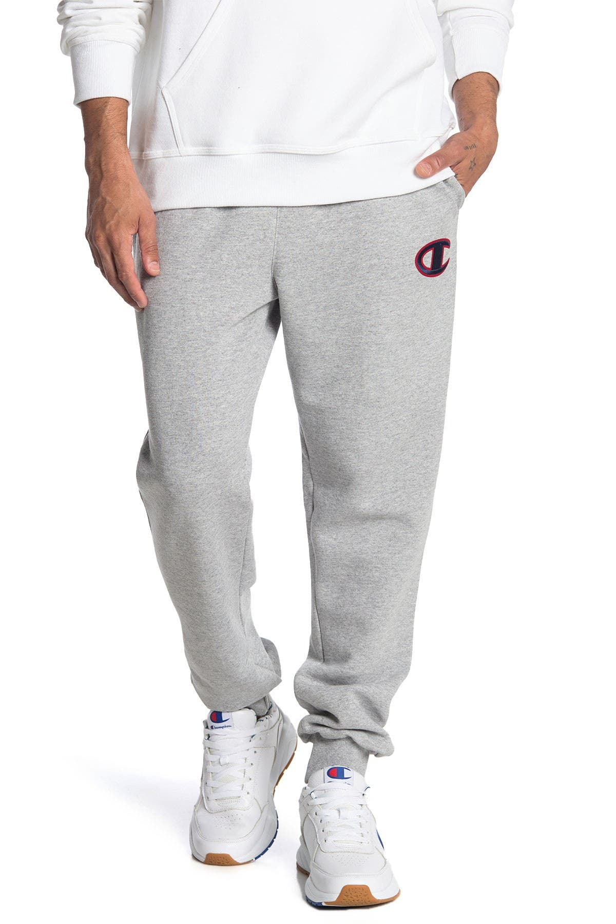 Image of Champion Powerblend Applique Joggers